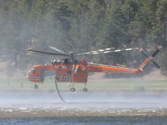 Heli in Lake Estes